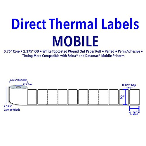 0.75 X 1.25 Label - 6