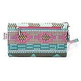 Mint Green | Pink Tribal Aztec Retro Vintage Wallet