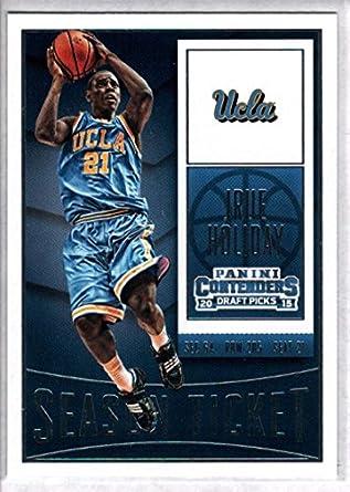 f06dbdad7 2015-16 Contenders Draft Picks Season Ticket Basketball  51 Jrue Holiday UCLA  Bruins Official