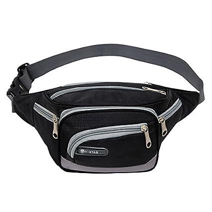 Azul Westeng Cintur/ón Deportivo Gran Capacidad Ri/ñonera para Correr Fitness Viaje Deportes y Aire Libre Cintur/ón de Correr para Mujer y Hombre size 20 x 13 x 13 cm