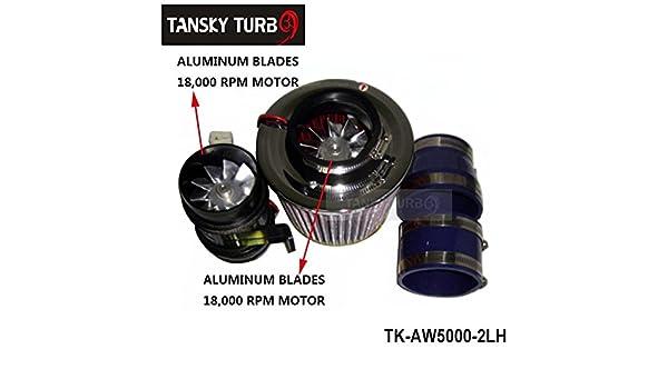 Alta calidad Nuevos Tetera Turbo Charge 330 W hierro (Ventilador) tk-aw5000 - 2LH: Amazon.es: Coche y moto