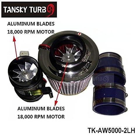 Turbocompresor eléctrico de 330 W de alta calidad, ventilador de hierro TK-