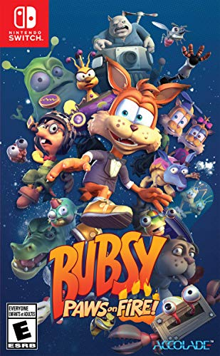 (Bubsy: Paws On Fire! - Nintendo Switch Standard Edition)