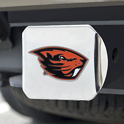 FANMATS NCAA Oregon State Beavers Oregon State Universitycolor Hitch - Chrome, Team Color, One Size