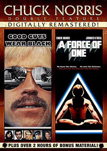 American Standard Chuck - Chuck Norris Double Feature: Good Guys Wear Black & A Force of One