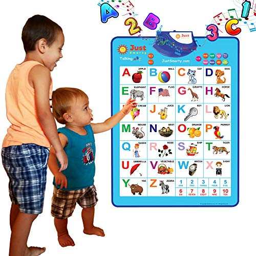 Just Smarty Electronic Interactive Alphabet Wall Chart ...