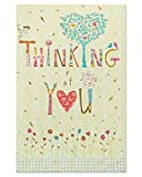 American Greetings Floral Thinking of You Card with Foil (6096174)