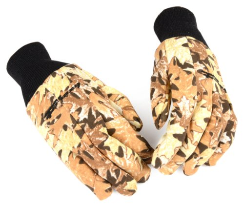 Forney 53292 Woods Camouflage Jersey Men's Gloves, Large