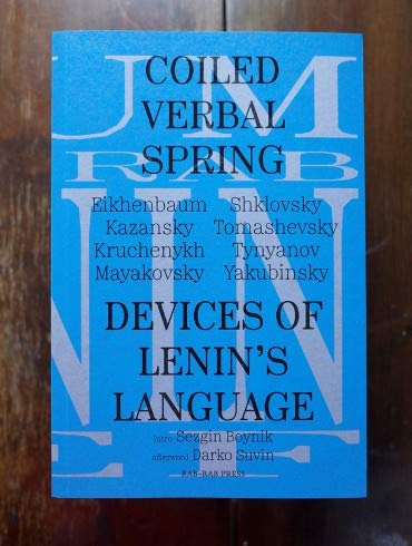 - Coiled Verbal Spring: Devices of Lenin's Language