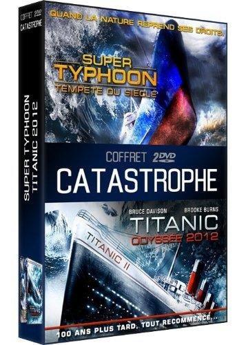 coffret 2 dvd catastrophe 2 : super typhoon / odyssee 2012, titanic