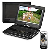 UEME Portable DVD CD Player with 10.1 Inches LCD...