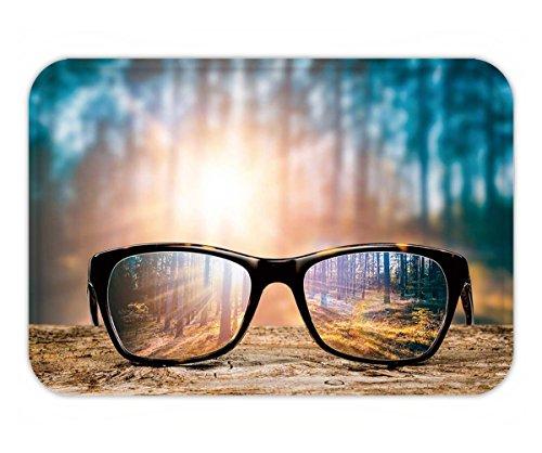 Beshowere Doormat glasses focus background wooden eye vision lens eyeglasses nature reflection look looking - Eyeglasses Soho
