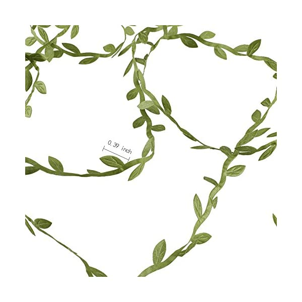 HOGADO-Artificial-Vines-132-Ft-Fake-Hanging-Plants-Silk-Ivy-Garlands-Simulation-Foliage-Rattan-Green-Leaves-Ribbon-Wreath-Accessory-Wedding-Wall-Crafts-Party-Decor