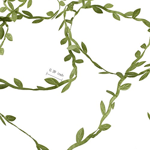Artificial-VinesHogado-132-Ft-Fake-Hanging-Plants-Silk-Ivy-Garlands-Simulation-Foliage-Rattan-Green-Leaves-Ribbon-Wreath-Accessory-Wedding-Wall-Crafts-Party-Decor