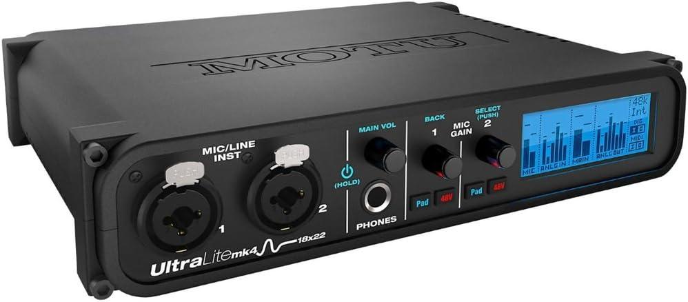 MOTU UltraLite-mk4 Audio Interface