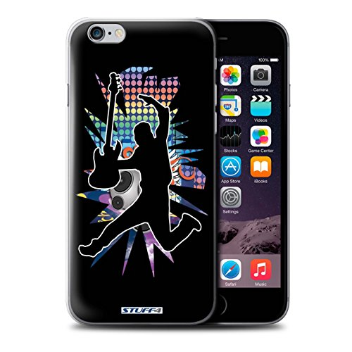 Coque de Stuff4 / Coque pour iPhone 6+/Plus 5.5 / Saut Noir Design / Rock Star Pose Collection