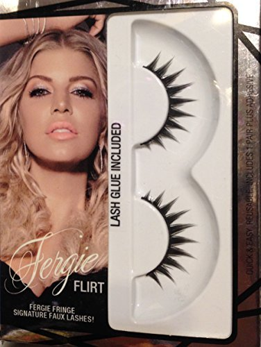 Flirt Lashes - Wet N Wild Fergie Fringe Siganture Faux Lashes-Flirt, (Pack of 2)