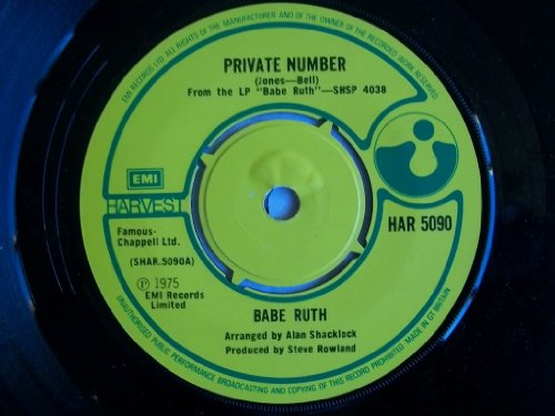 Babe Ruth - Private Number - 7