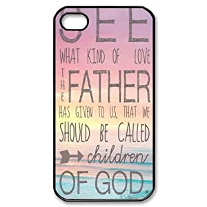 Bible Verse Cell Phone Case Cover Protector for Apple iPhone 4/4S (6)