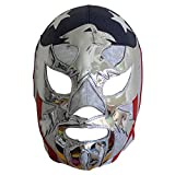Deportes Martinez Patriot America Semi-Professional Lucha Libre Wrestling Mask Adult Luchador Mask Costume Wear Pro