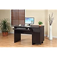 10328 Smart Home Office Furniture Espresso Computer Desk