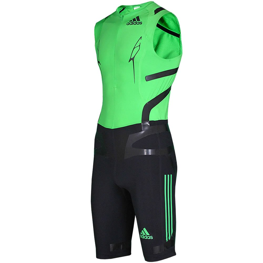 Adizero Sprint Powerweb Suit Men intensGrün SL Adizero TPU – -Colour Schwarz