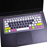 """Keyboard Cover for 13.3"""" Dell Inspiron 13 5368 5370 5378 5379 7368 7372 7373 7375 7378 7380 7386/15.6"""" Inspiron 15 5568…"""