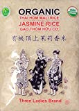 有機頂上茉莉香米USDA organic Three Ladies Thai Jasmine Rice Long Grain 5 lbs