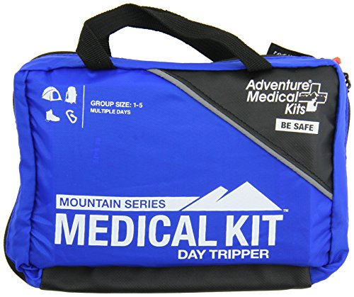 Adventure Medical Kits Mountain Series Daytripper First Aid Kit, Backcountry Medical Care, Comprehensive Guide, Easy Care, Water-Resistant Zipper, Durable Case, Lightweight, 15oz Wilderness First Aid