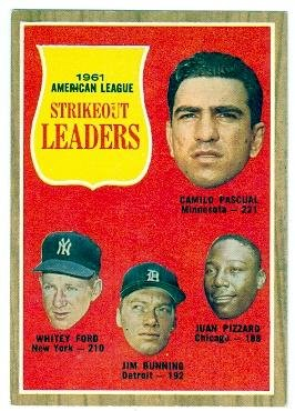 1961-al-strikeout-leaders-1962-topps-baseball-card-59-camilo-pascual-jim-bunning-whitey-ford-juan-pi
