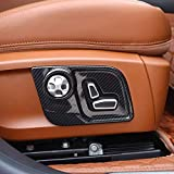 ABS Plastic Car-Styling Seat Side Decorate Frame Cover Trim for Maserati Levante Ghibli Quattroporte Carbon Fiber Style