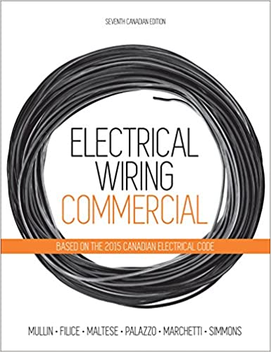 Admirable Electrical Wiring Commercial Amazon Co Uk 9780176570460 Books Wiring Database Wedabyuccorg