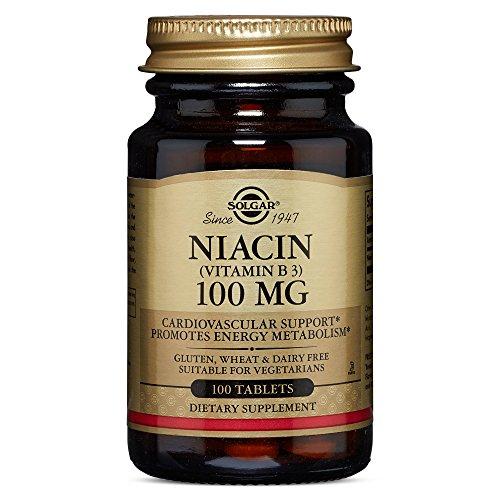 Solgar Niacin Vitamin Tablets Count