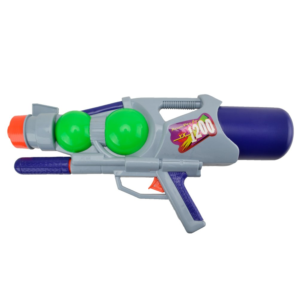Super Aqua Blaster Water Gun - Happytime 2018 1200CC High-Capacity Pump Up Water Blaster Party and Outdoor Activity for Kids Adult by Happy Time