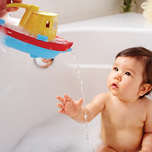 518S 8WElPL - Green Toys My First Tugboat - BPA, Phthalates Free Bath Toys for Kids, Toddlers. Toys and Games