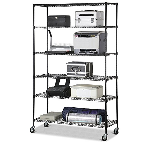 durable-commercial-space-saving-6-layer-steel-wire-metal-shelving-rack-120x45x182cm-approx-23kg-51lb