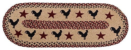 Better Trends 13X36 Burgundy Rooster 13