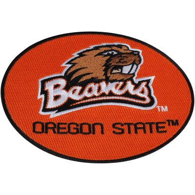 NEW! Oregon State Beavers Peel & Stick Repositionable Embroidered Patch