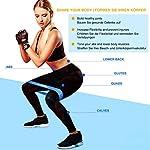 WOTEK-Elastici-Fitness-Bande-di-Resistenza-Fitness-Fasce-Elastiche-di-Lattice-con-5-Livelli-di-Resistenza-per-Fitness-Yoga-Crossfit-Allenamento-di-Forza-Riabilitazione-Fisico-e-Bodybuilding