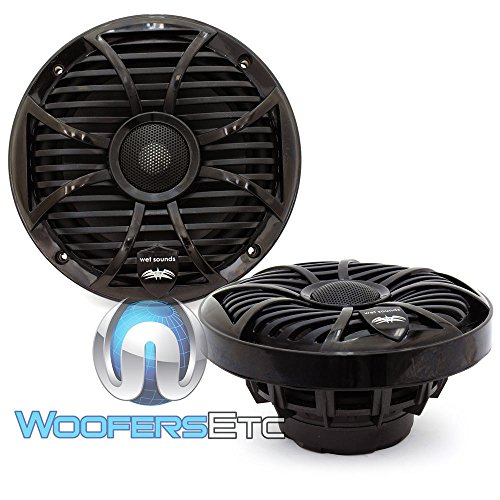 - Wet Sounds SW Series Black Closed Grill 6.5