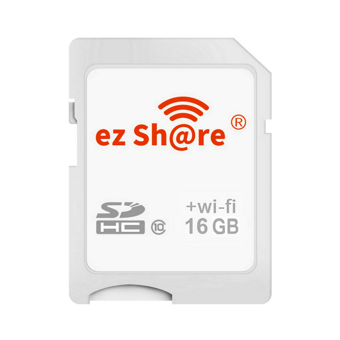 GuDoQi Wireless WiFi SD Tarjeta 16GB SHDC Clase 10 Tarjeta De Memoria Flash para Canon Nikon Casio Cámara Digital SLR (Versión Mejorada)