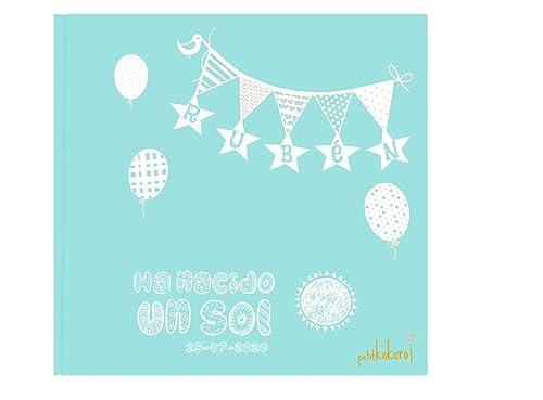 álbum bebé fotos primer año personalizado Petitkokoro