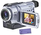 Sony Digital8 Camcorder DCR-TRV330 Sony Handycam Digital8 Player Hi8 Camcorder