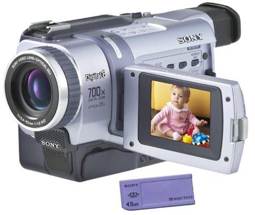 Sony Digital8 Camcorder DCR-TRV330 Sony Handycam Digital8 Player Hi8 Camcorder (Renewed) (Sony Vid Camera Digital)