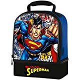 Superman Thermos Dual Compartment Lunch Bag (New)