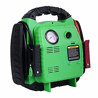 Car Portable Battery Jump Starter Air Compressor Booster Jumper 500 Amp 12V Automotive Jump Starters - House Deals