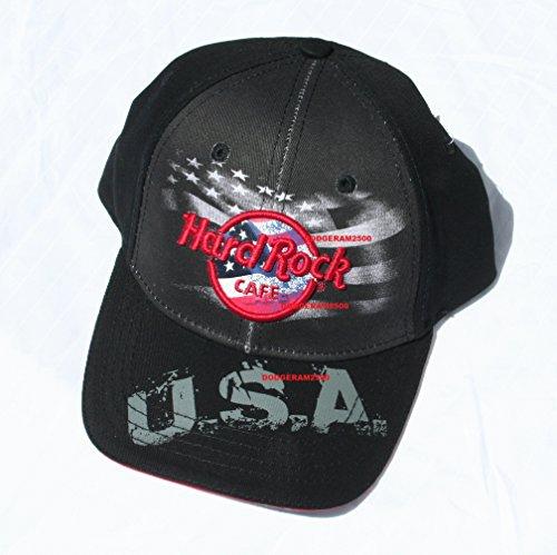 Hard Rock Cafe Washington DC ~ USA Flag Logo Baseball Cap U.S.A Hat
