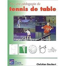 Pour une pédagogie du tennis de table