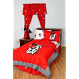 College Covers Georgia Bulldogs Bed in a Bag, Full, White