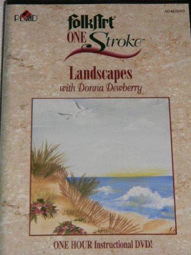 - Folk Art One Stroke Landscapes With Donna Dewberry